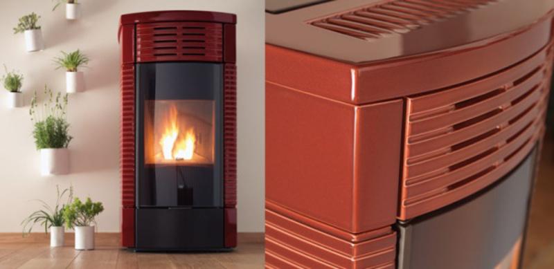 Fortuzziclimatec stufe e caldaie a pellet fortuzziclimatec - Stufa a pellet termosifoni ...